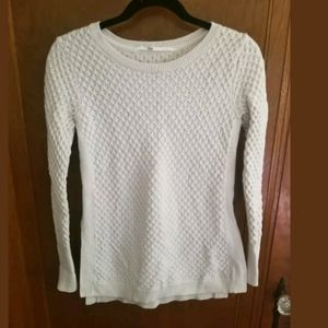 Athleta Merino Wool Cream Sweater XS